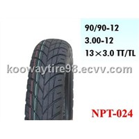 90/90-12 motorcycle tubeless tires