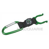 Alumimum Carabiner with Compass