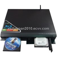 Blue Ray Player with HDD Rack and Network (F1)