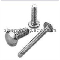 Carriage Bolt with 8 to 200mm Length