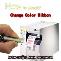 Change Color Ribbon can make security lables