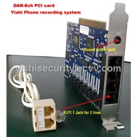 DAR-R8  8CH Phone Recorder with SDK/audio security product