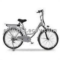 Electric Bike with 240W Brushless Hub Motor