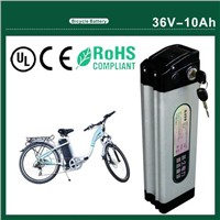 Electric Bicycle Kit, Battery with 36V 10Ah, 20A Discharge Current with Charger, BMS