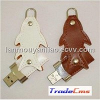 Fish Leather USB Flash Drive