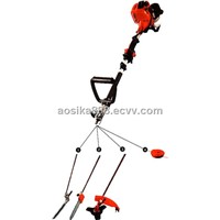 Gasoline hedge trimmer/brush cutter