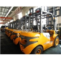 HuaHe Forklift 2-7 ton diesel forklift with Japanese engine