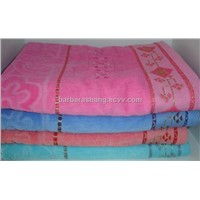 Solid Terry Cotton Bath Towel