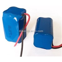 Powerful Li-ion Battery Pack 18650 with 20C 1500mAh 14.8V