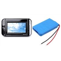 Rechargeable Li-Ion Battery Packs for MP4 Player