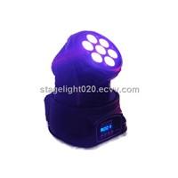 Rgbw Moving Head Wash,7*10W Mini Stage Bar, Party Light