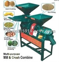 Rice Mill and Flour Crush Combine Machine/Flour Mill