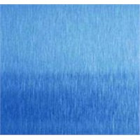 SH-402 sapphire blue abrasive blasted finishes stainless steel  sheet