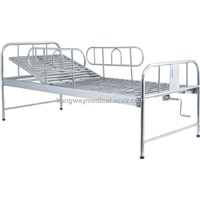 SLV-B4011S Stainless Steel Bed with One Crank