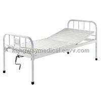SLV-B4012 Plastic-spray steel bed with one crank