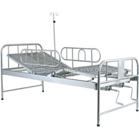 SLV-B4021S Stainless steel bed with two cranks
