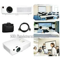 SOHA SLX350 Digital Full HD 1080p 1080I Portable 3LCD Projector