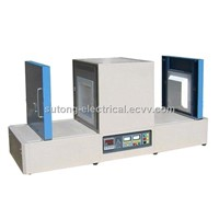 ST-1400D Double Doors Laboratory Heating Furnace,Rail Muffle Furnaces,Dual Doors Electric Furnace