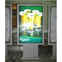 Sidewalk signs: Outdoor Advertising Scrolling Light box
