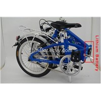 Solar Folding Electric Bike with Lithium Battery