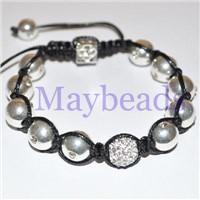 Tresor Paris Shamballa Bead Bracelets  (MB-SW007)