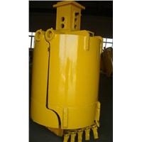 Two-Petal Soil Drill Bucket