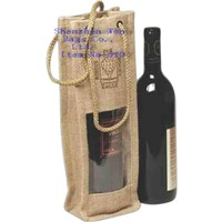 Non woven Enviro Foldable Wine Bags for Promotional Purpose