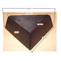 Wooden Triangle Sofa Leg: YS00207-YISO FURNITURE