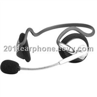 Computer Neckband Earphone with Microphone