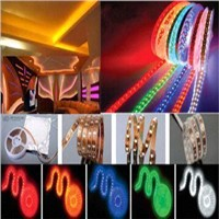 led Flexible strip light ,LED rope light with CE RoHs flexible LED light 4.8W LED ribbon light