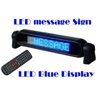 LED Car Message Moving Sign Board