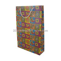 Paper Bag with Cotton Rope Printing
