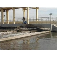 wastewater treatment system-- wastewater aerator