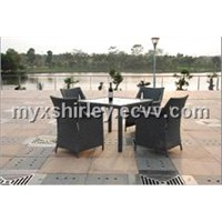 wicker dining furniture MD-113