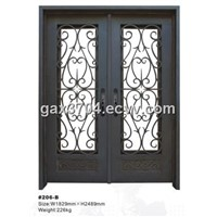 Interior custom iron doors HT-206B