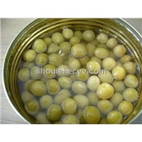 Canned Green Peas 24x400g/ctn