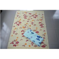 100% cotton terry printed towel blanket