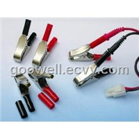 10A Crocodile Clips Set (4.0mm Banana plug)