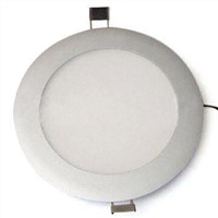 10W Round LED Panel Light with 435 to 470lm Luminous Flux