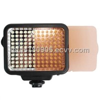 120 LED Video Light with Two Color Temperature Transparent Films (Tawny / White)