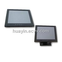 "12.1"" LCD Monitor w/Touch Glass & Folding Base"