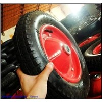 132*3 A wheelbarrow tire