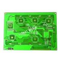 2 layer green solder mask immersion gold PCB