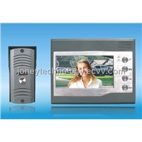 7 Inch Video Door Phone Set - Handfree for Villa Single User