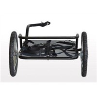 Bike Luggage Trailer with Silver(Black) Powder Coating