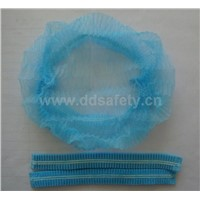 Blue disposable bouffant cap-DNC101