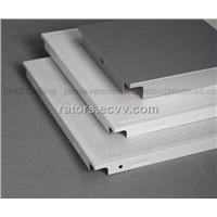 Clip in Aluminium False Ceiling Tiles/Metal suspended ceiling tiles
