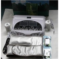 Dual Working System Detox Foot Spa with Belts + Waistband + Dual LCD