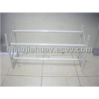 Free combination telescopic shoes rack, shoes rack white stretch
