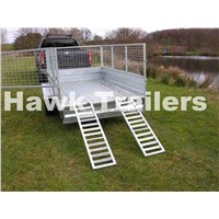 Fully Galvanized cage trailer